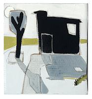 V. Koch, Baum mit Stall