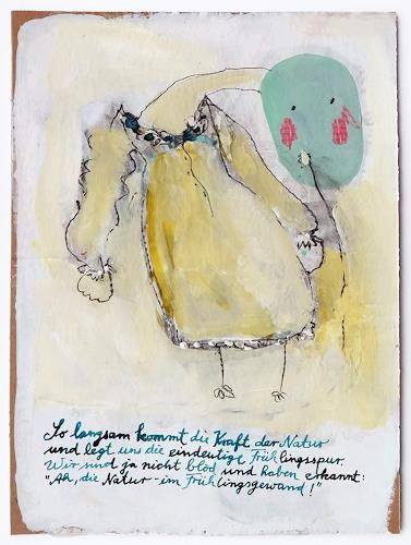 Victor Koch, Frühlingsspur, Fashion, Poesie, Gegenwartskunst, Abstrakter Expressionismus