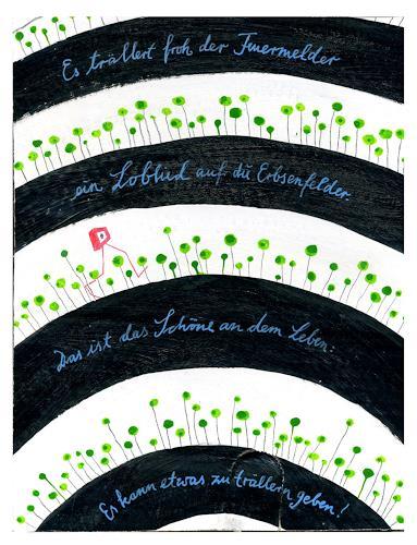 Victor Koch, Loblied, Natur: Diverse, Poesie, Gegenwartskunst