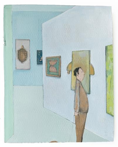 Victor Koch, Schildkrötentempo, Diverse Verkehr, Gefühle: Freude, Gegenwartskunst, Expressionismus