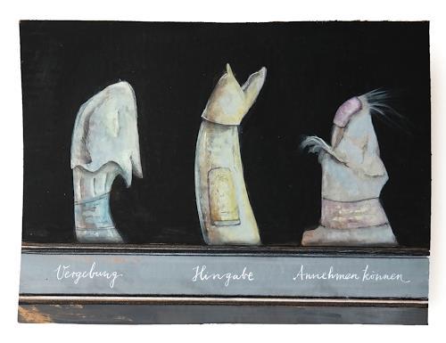 Victor Koch, Dass alles möglich wird, Abstraktes, Diverse Gefühle, Gegenwartskunst