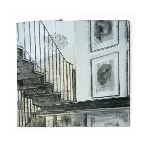 Victor Koch, Home, Architektur, Gefühle: Geborgenheit, Gegenwartskunst, Expressionismus