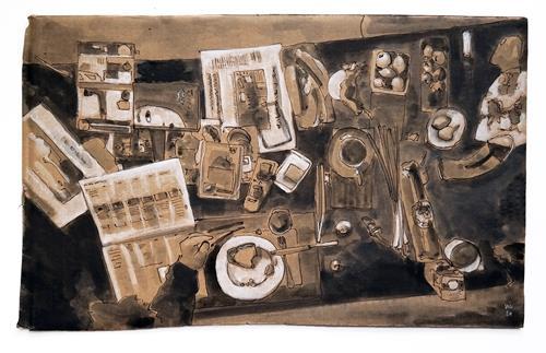 Victor Koch, Schutzzone, Essen, Architektur, Gegenwartskunst, Expressionismus