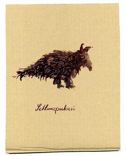Victor Koch, Schlunspakasi, Tiere: Land, Mythologie, Gegenwartskunst