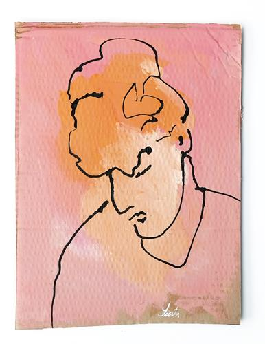 Victor Koch, Siesta, Menschen: Frau, Gegenwartskunst