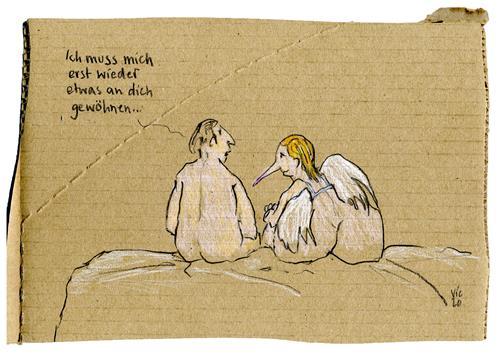 Victor Koch, Zeit, Menschen: Paare, Zeiten: Zukunft, Gegenwartskunst