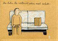 Victor-Koch-Menschen-Mann-Skurril-Gegenwartskunst-Gegenwartskunst