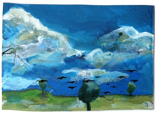 Victor Koch, Symbol oder reine Schönheit, Diverse Landschaften, Abstraktes, Gegenwartskunst, Expressionismus