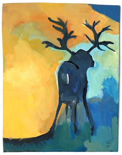 Victor Koch, Der Künstler erinnert daran, dass es nichts Besseres gibt, als ..., Tiere: Land, Natur: Diverse, Gegenwartskunst