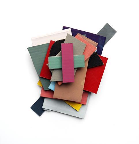 Victor Koch, Farbturm, Abstraktes, Architektur, Gegenwartskunst