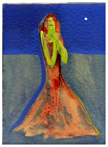 Victor Koch, Tante (Marias Schwester), Menschen: Frau, Gefühle: Freude, Gegenwartskunst