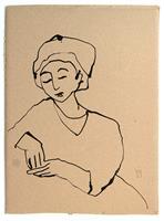 Victor-Koch-Menschen-Frau-Gefuehle-Angst-Gegenwartskunst-Gegenwartskunst