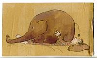 Victor-Koch-Menschen-Mann-Tiere-Land-Gegenwartskunst-Gegenwartskunst