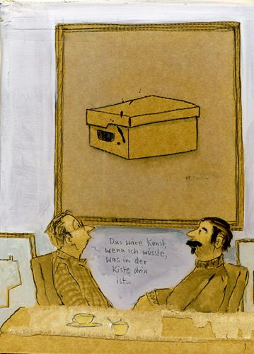 Victor Koch, Der Arbeitskollege..., Menschen: Mann, Diverse Gefühle, Gegenwartskunst