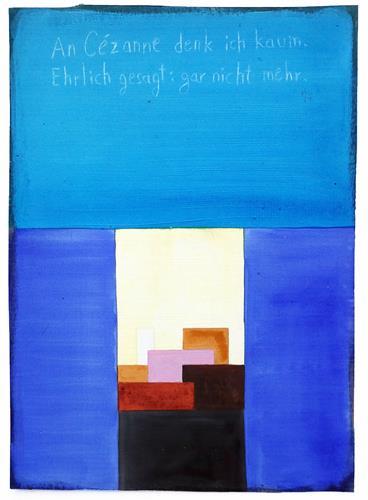 Victor Koch, Cézanne habe ich ziemlich vergessen, Architektur, Natur: Diverse, Gegenwartskunst