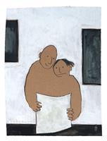 Victor-Koch-Menschen-Paare-Gefuehle-Freude-Gegenwartskunst-Gegenwartskunst
