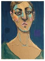 Victor-Koch-Menschen-Frau-Menschen-Portraet-Gegenwartskunst-Gegenwartskunst