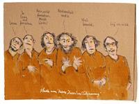 Victor-Koch-Menschen-Gruppe-Situationen-Gegenwartskunst-Gegenwartskunst