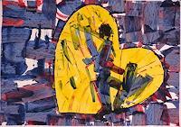 Veronika-Ulrich-Abstraktes-Gefuehle-Trauer-Moderne-Expressionismus-Abstrakter-Expressionismus