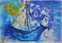Veronika-Ulrich-Freizeit-Natur-Wasser-Moderne-Expressionismus-Abstrakter-Expressionismus