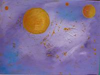 Veronika-Ulrich-Diverse-Weltraum-Fantasie-Moderne-Expressionismus-Abstrakter-Expressionismus