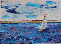 Veronika-Ulrich-Landschaft-See-Meer-Natur-Erde-Moderne-Expressionismus-Abstrakter-Expressionismus