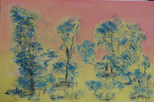 Veronika Ulrich, Traumbäume, Pflanzen: Bäume, Diverse Landschaften, Abstrakter Expressionismus
