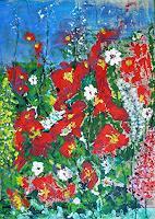 Veronika-Ulrich-Pflanzen-Blumen-Moderne-Expressionismus-Abstrakter-Expressionismus