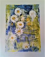 Veronika-Ulrich-Pflanzen-Blumen-Pflanzen-Blumen-Moderne-Expressionismus-Abstrakter-Expressionismus