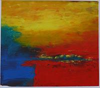 Veronika-Ulrich-Landschaft-See-Meer-Moderne-Expressionismus-Abstrakter-Expressionismus