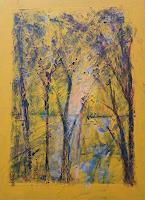 Veronika-Ulrich-Landschaft-Abstraktes-Moderne-Expressionismus-Abstrakter-Expressionismus