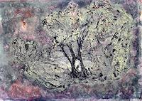 Veronika-Ulrich-Natur-Diverse-Landschaft-Winter-Moderne-Expressionismus-Abstrakter-Expressionismus