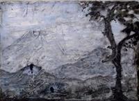 Veronika-Ulrich-Landschaft-Winter-Landschaft-Berge-Moderne-Abstrakte-Kunst
