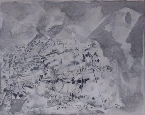 Veronika Ulrich, Fantasie, Fantasie, Abstrakter Expressionismus, Expressionismus