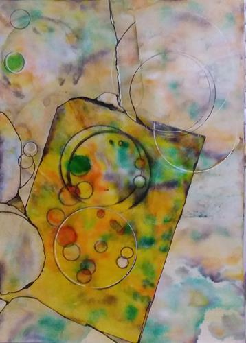 Veronika Ulrich, Fantasie 2, Fantasie, Abstrakter Expressionismus