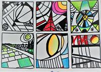 Veronika-Ulrich-Fantasie-Moderne-Abstrakte-Kunst
