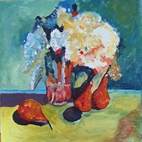 Veronika-Ulrich-Stilleben-Moderne-Expressionismus-Abstrakter-Expressionismus