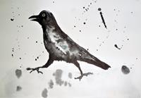 Veronika-Ulrich-Tiere-Luft-Natur-Luft-Moderne-Abstrakte-Kunst
