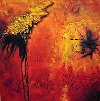 Christine Blum, Rot-Orange 1