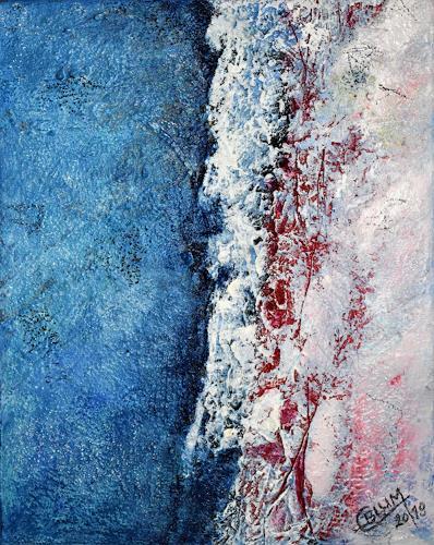 Christine Blum, o.T. 177, Abstraktes, Abstrakte Kunst, Expressionismus