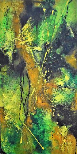 Christine Blum, Dschungel, Abstraktes, Abstrakte Kunst