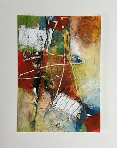 Christine Blum, O.T. 204, Abstraktes, Abstrakte Kunst