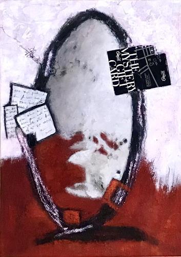Christine Blum, Spiegel, Abstraktes, Abstrakte Kunst, Expressionismus