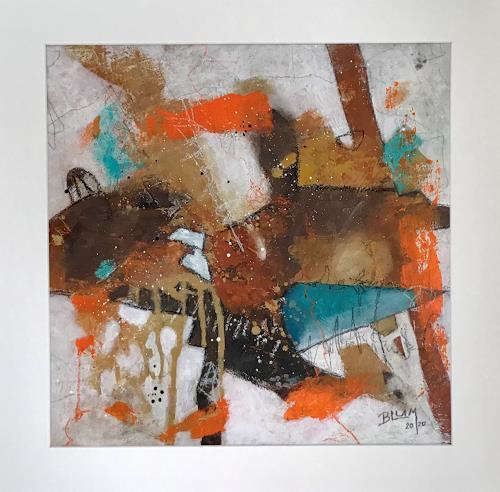 Christine Blum, o.T.211, Abstraktes, Abstrakte Kunst, Expressionismus