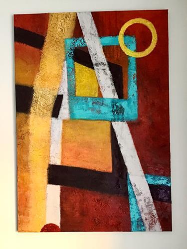 Christine Blum, o.T. 216, Abstraktes, Abstrakte Kunst
