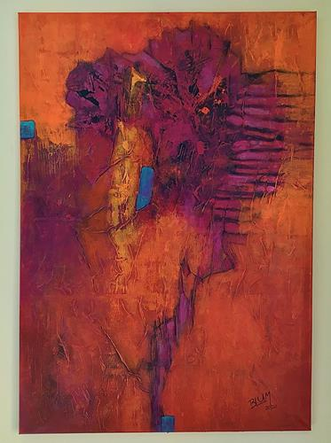 """Christine Blum, """"Vincent"""", Abstraktes, Abstrakte Kunst"""