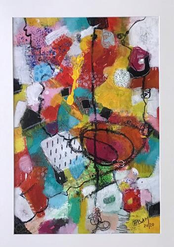 Christine Blum, o.T. 226, Abstraktes, Abstrakte Kunst