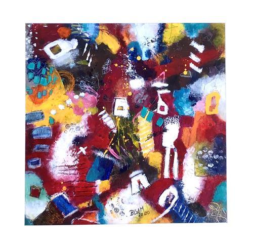 Christine Blum, o.T.233, Abstraktes, Abstrakte Kunst