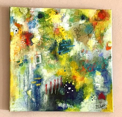 Christine Blum, o.T.149, Abstraktes, Abstrakte Kunst