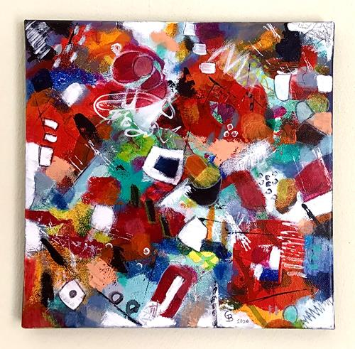 Christine Blum, o.T. 239, Abstraktes, Abstrakte Kunst